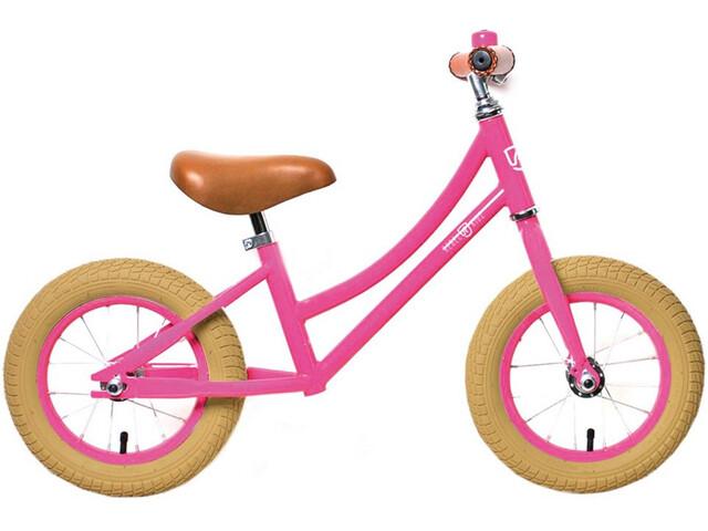 "Rebel Kidz Air Classic Lernlaufrad Unisex 12,5"" pink"